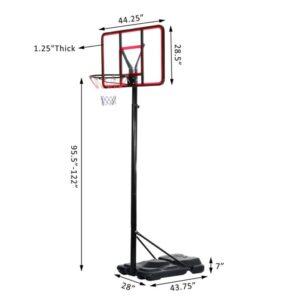Best Portable Basketball Hoop Review – Backboard Size