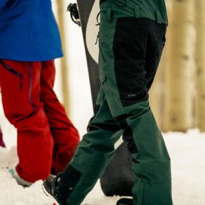 Best Ski Bibs Review - Fabric