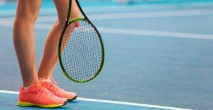 Hard Court Tennis Shoes - Midsoles