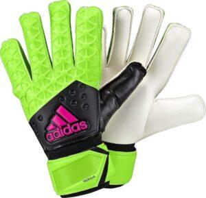 Adidas Ace Zones Pro Goalie Gloves 8 Green/Black/Pink