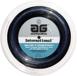 AG International Nylon Squash and Racquetball String