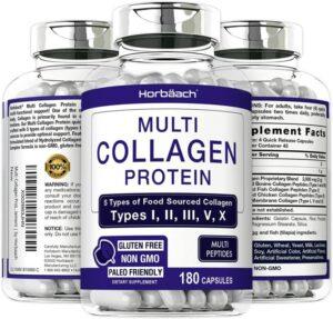 Multi Collagen Protein Capsules 2000 mg
