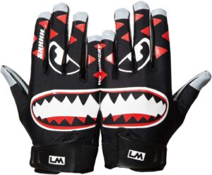 Football Gloves Loudmouth Ultra Grip