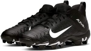 Nike Men's Alpha Menace 2 Shark Football Cleat Black