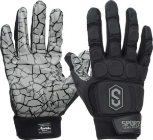 Football Gloves Sports Unlimited Max Clash