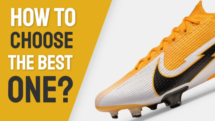 how to choose soccer cleat