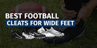Wide Football Cleats for Lineman
