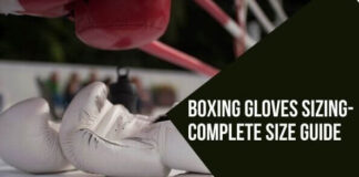 How to measure boxing gloves